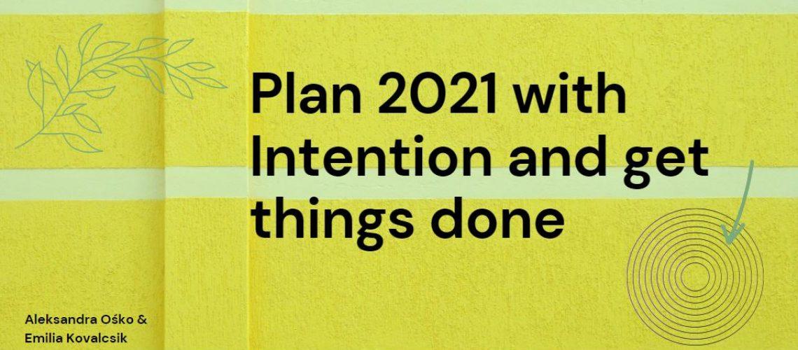 Plan 2021